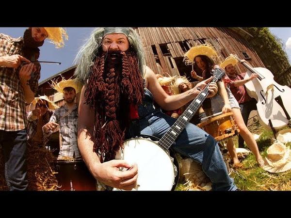 Metallica - Fight Fire with Fire (banjo cover ft. Leo Moracchioli)