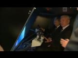 Путин провел «стыковку» с орбитальной станцией