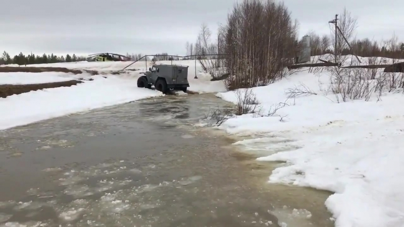 Российский самодельный вездеход Зырянин из КОМИ