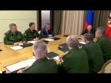 Совещание по вопросам развития Вооружённых Сил