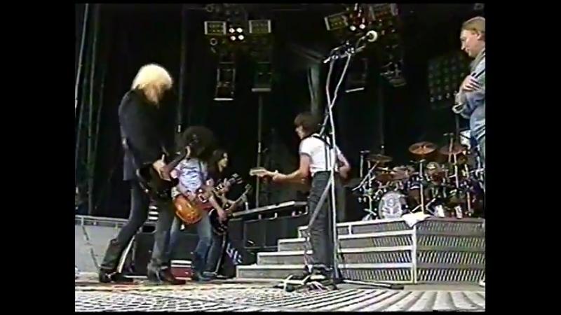 Guns N Roses - Hippodrome de Vincennes, Paris, France (Rehearsals) - 1992-05-06