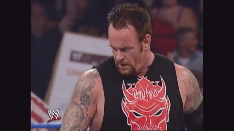 Undertaker, Edge Rikishi vs. Kurt Angle, Benoit, Guerrero SmackDown 10.05.2002