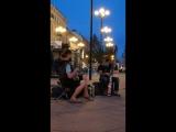 Уличные музыканты регги