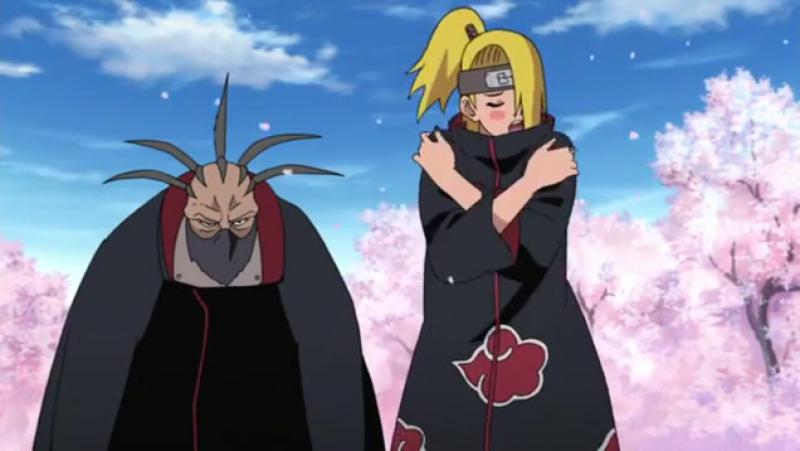 Момент из 457 серии аниме Наруто: Ураганные хроники / Naruto Shippuuden