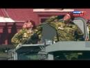 Механизированная часть Парада Победы на Красной площади