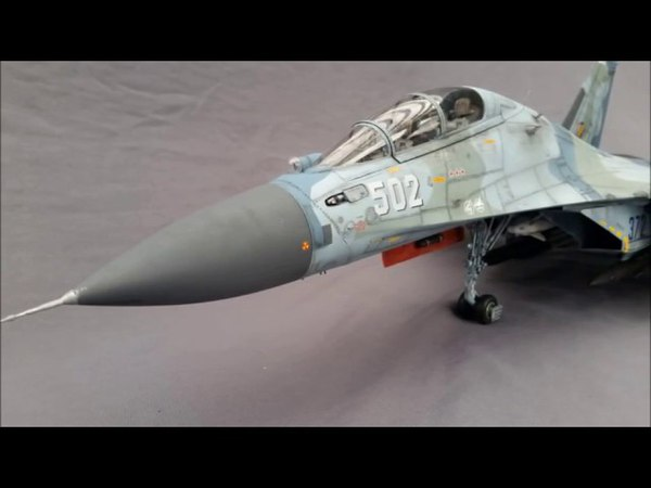 Trumpeter 1/32 SU-30 Flanker build/review