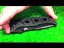 Обзор ножа Benchmade Adamas BM275BK сталь D2 рукоять G10