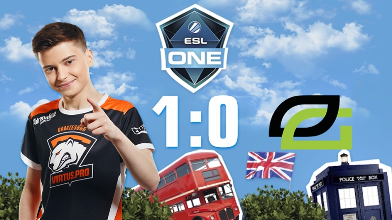 Virtus.pro 1:0 OpTic Gaming, bo5. Гранд-финал ESL One Birmingham 2018