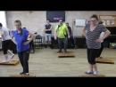Танец на степ-досках на спортивном вечере 30.05.2018 в Центре реабилитации