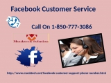 Why are people saying that Im in need of Facebook Customer Service 1-850-777-3086