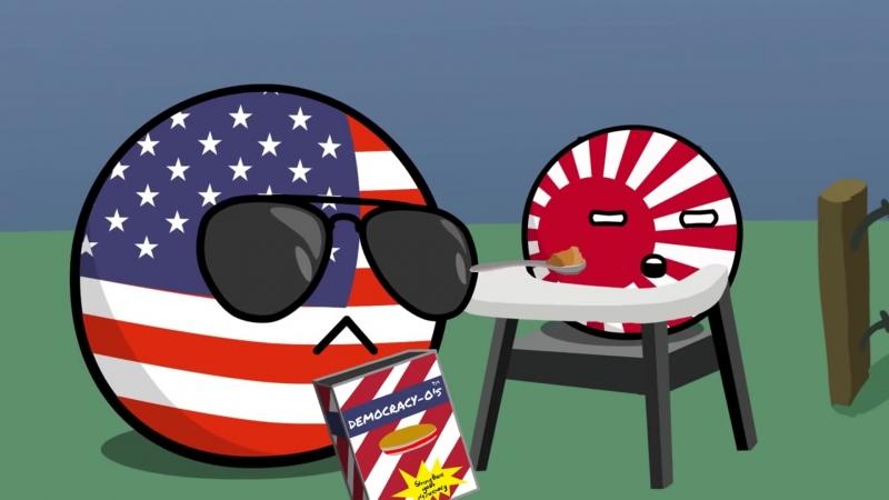 Как в Японии Демократию еб..ли [Перевод от Dolbaeba]