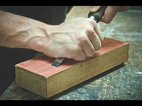 Making a Leather Bench Strop