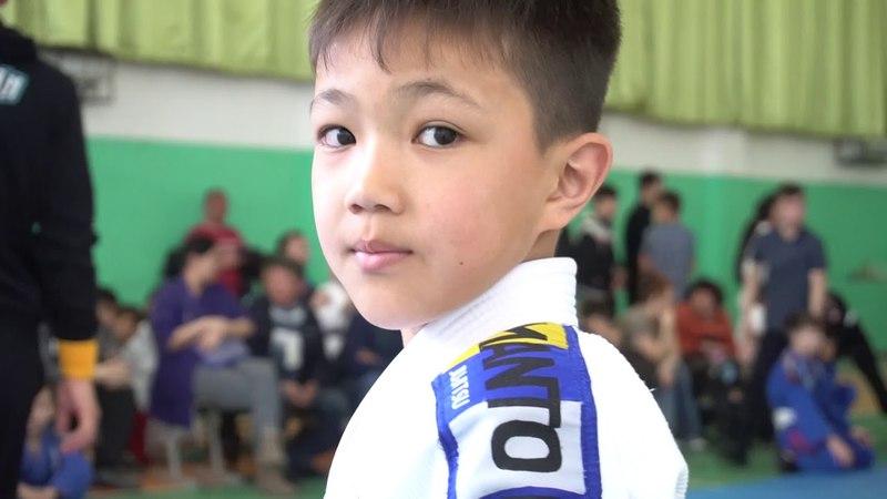 Kazakhstan Top Team Детские Соревнования по Джиу джитсу в Ащыбулаке. Алматинская обл.8,04,18 » Freewka.com - Смотреть онлайн в хорощем качестве