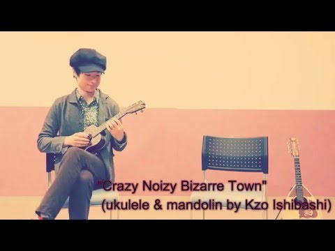 Crazy Noisy Bizarre Town (ukulele/mandolin) ジョジョの奇妙な冒険 第4部OP