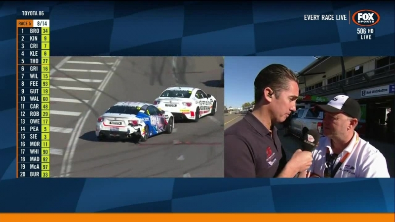 Toyota 86 Racing Series 2018 Round 2 Townsville Race2