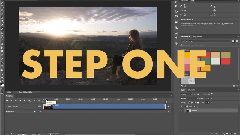 The Photoshop Cinemagraph Kit - How to create Cinemagraphs in ONE minute