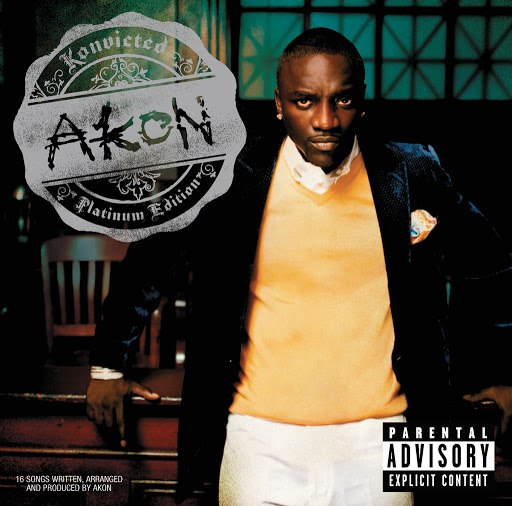 Akon альбом Konvicted (UK/OZ/NZ Deluxe Album)