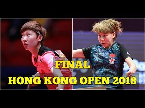WANG Manyu vs CHEN Xingtong | WS FINAL | Hong Kong Open 2018