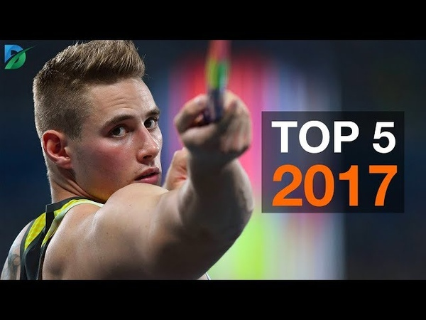 Top 5 javelin throwers from 2017.