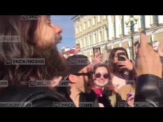 Джаред Лето в Петербурге