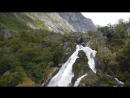 Водопад в Норвегии. с ледника