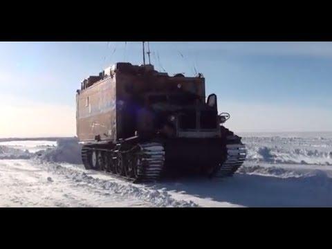 экскурсия по станции «Восток» (часть вторая) (видео участника 60-й Российской Антарктической экспедиции, 2015)