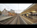 4K Cab Ride NL Hoogkarspel – Hoorn – Schiphol – Hoofddorp Opstel (Empty Train) 23-10-2017