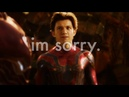 Im sorry. | peter parker