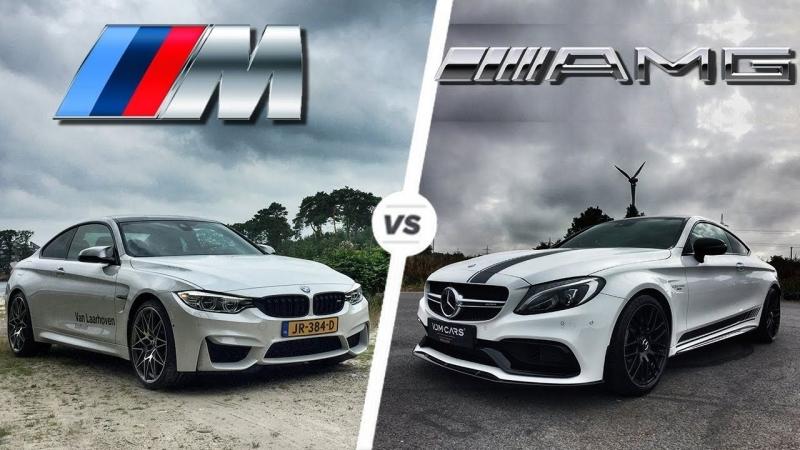 BMW M4 DTM vs Mercedes AMG GTR