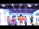 Sofia Reyes - 1, 2, 3 (feat. Jason Derulo De La Ghetto) / Zumba® / Easy Dance Fitness Choreography