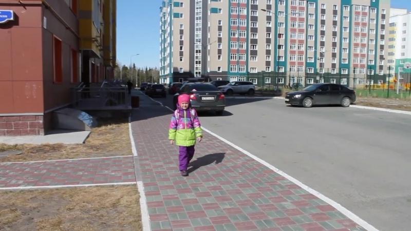 Дорога в школу В.Шалунова 12гр