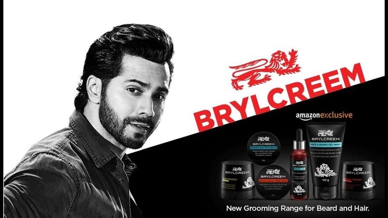 New Brylcreem - Beard and Hair grooming range - Varun Dhavan (pehchaan Tamil)
