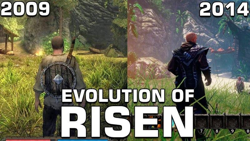 Evolution of Risen (2009-2014)