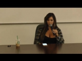 Adult Film Star, Tasha Reign speaks live at Chapman University