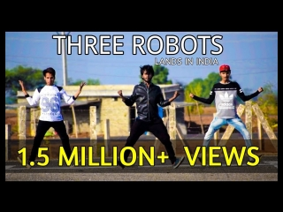 OMG! Three Robots Land in India - Popping Dance - By Versatile Dance Studio - Neemuch m.p