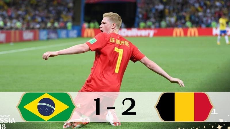 Brasil 1 x 2 Bélgica Galvão Bueno GLOBO Copa do Mundo 06 07 2018