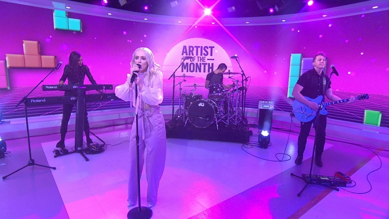 Madilyn Bailey - 'Tetris' live on TODAY