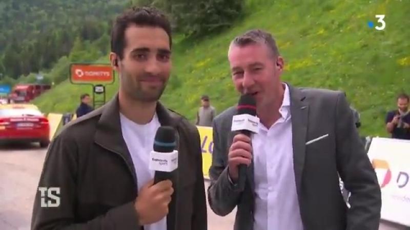 Le Français a devancé au sprint Dan Martin et Geraint Thomas dans la première étape de montagne. CriteriumduDauphine