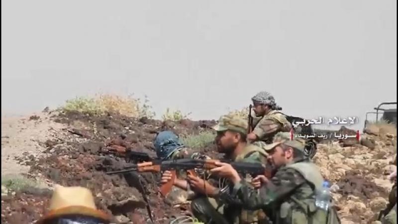 Сирийские правительственные войска продолжают широкомасштабное наступление на позиции боевиков Исламского Государства*(запрещено