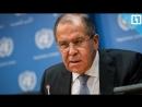 Встреча Лаврова со спецпредставителем генсека ООН