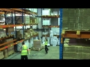 Two lads working the night shift, dancing to Arctic Monkeys