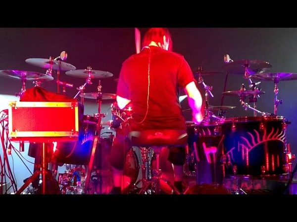 Kai Hahto (Nightwish) Drumcam 'Weak Fantasy' ( Espoo/Finland/13.11.2015)