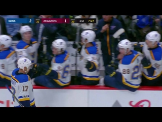 Highlights: STL vs COL Oct 19, 2017