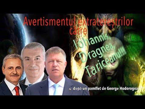 Avertismentul Extraterestrilor Pentru Iohannis, Dragnea si Tariceanu (Teorii Incredibile)