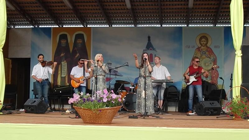 АРТ-фолк группа ЕжеВикА(Тамбов) на 13-м Кузнечном фестивале в Бывалино 15.07.2018., Жаворонка