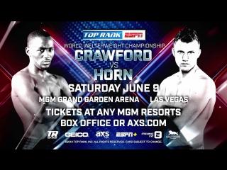 Media Workout: Crawford-Horn