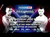 Media Workout: Crawford-Horn