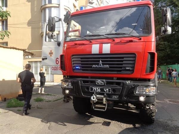 Как пропускают пожарных в Одессе 10/Ride along on Ukrainian fire truck