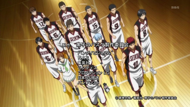[AnimeOpend] Kuroko no Basuke (TV-1) 2 ED | Ending / Баскетбол Куроко (ТВ-1) 2 Эндинг (720p HD)