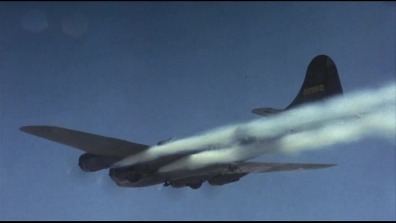 Мемфисская красотка (1990). Первый бой с немецкими истребителями